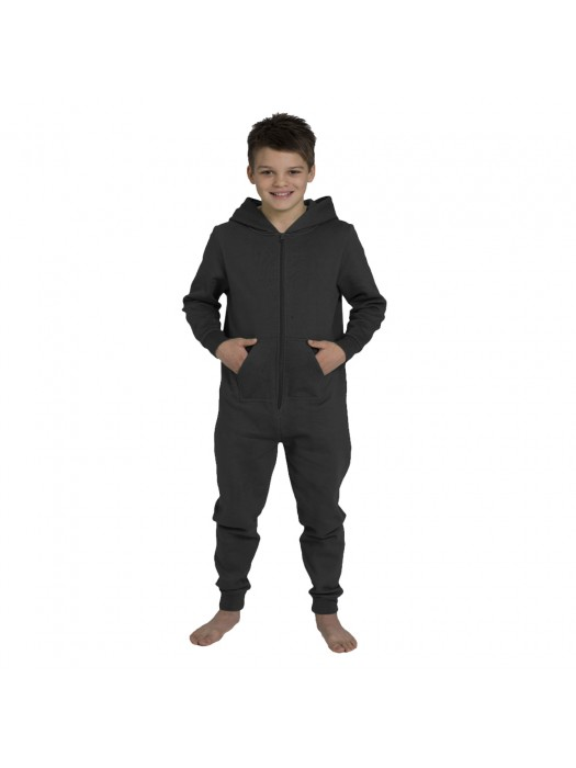 Plain Kids Charcoal Comfy Co Onesie