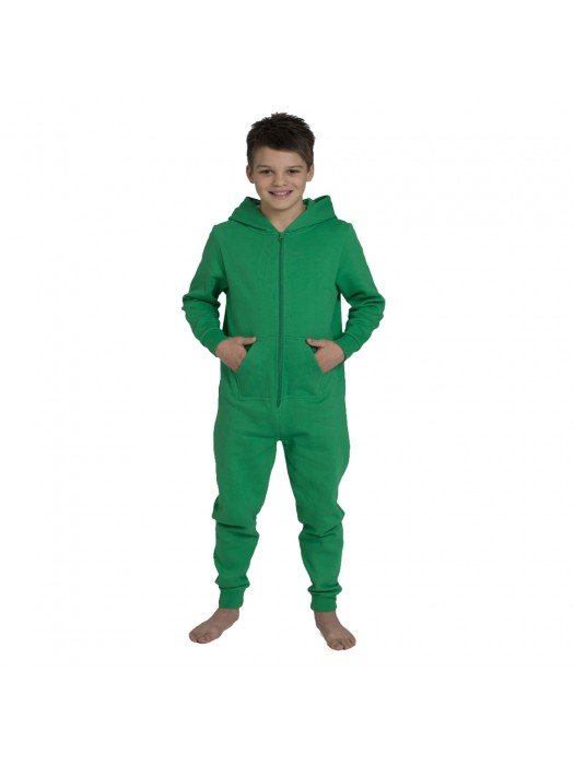 Plain Kids Kelly Green Comfy Co Onesie