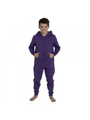 Plain Kids Purple Comfy Co Onesie