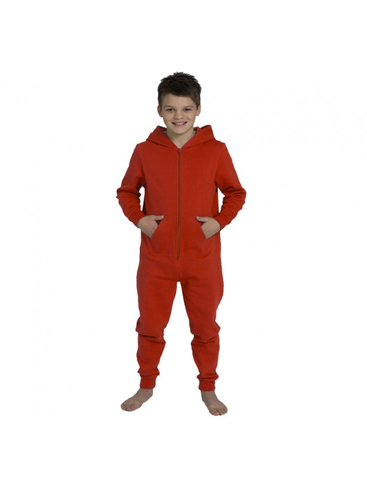 Plain Kids Red Comfy Co Onesie