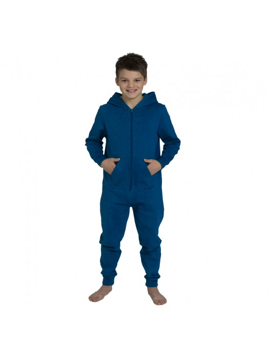 Plain Kids Royal Blue Comfy Co Onesie