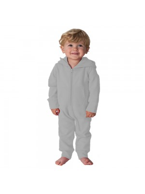 Plain Todddler Heather Grey Comfy Co Baby Onesie
