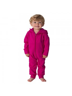 Plain Todddler Hot Pink Comfy Co Baby Onesie