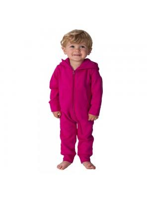 Plain Todddler Hot Pink Comfy Co Baby Onesie