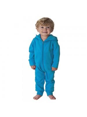 Plain Todddler Sapphire Blue Comfy Co Baby Onesie