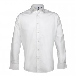 Plain Supreme poplin long sleeve SHIRT PREMIER 125 GSM