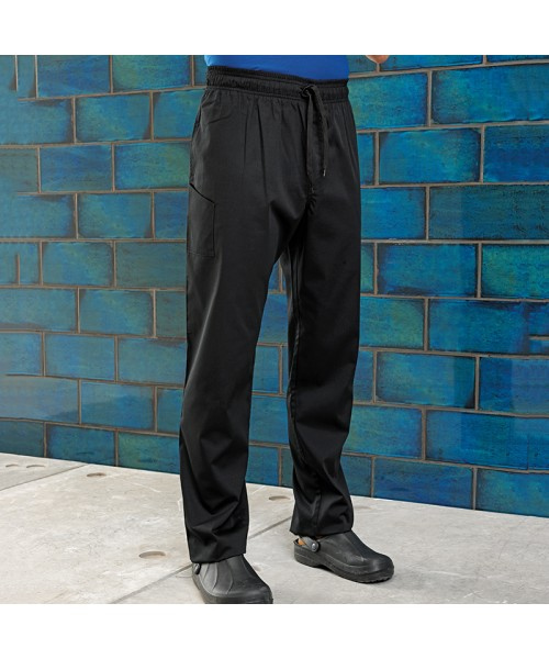 Plain Chef's select slim leg Trouser PREMIER 196 GSM
