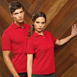 Plain COOLCHECKER® PLUS PIQUÉ POLO SHIRT PREMIER 185 GSM