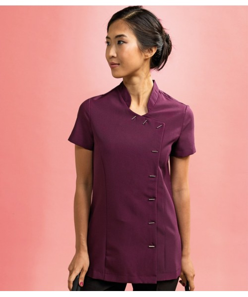 Plain beauty and spa tunic Orchid Premier 185 GSM