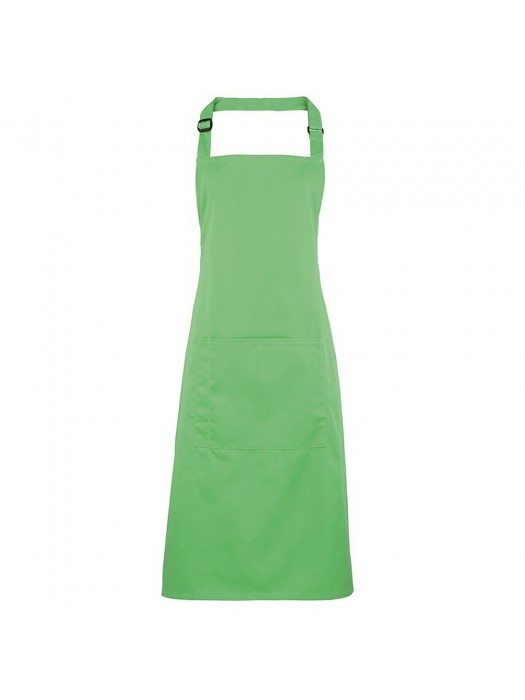 Plain Apple Green Long Apron