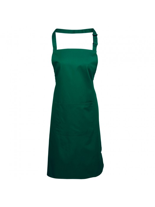 Plain Bottle Long Apron