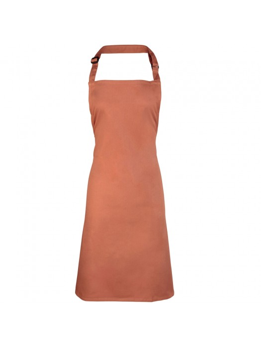 Plain Chestnut Long Apron
