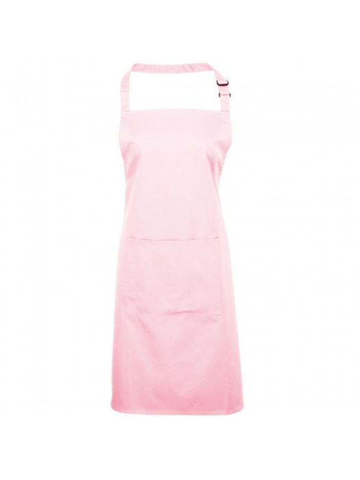 Plain Pink Long Apron