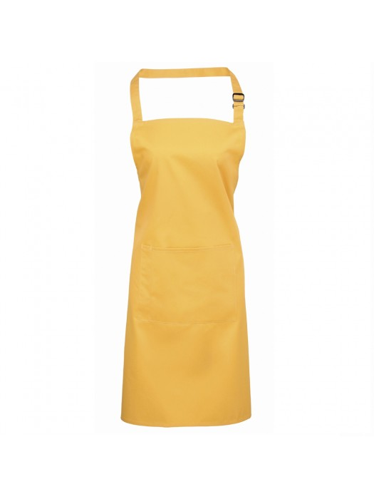 Plain Sunflower Long Apron