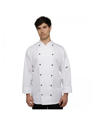Plain jacket Long sleeve executive lechef PROFESSIONAL 215 GSM