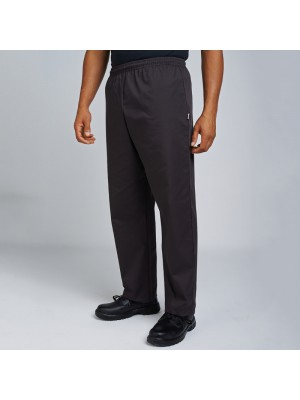 Plain trouser Chef's kit elasticated trouser AFD 200 GSM