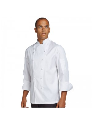 Plain jacket Classic fit long sleeve leChef PROFESSIONAL 170 GSM