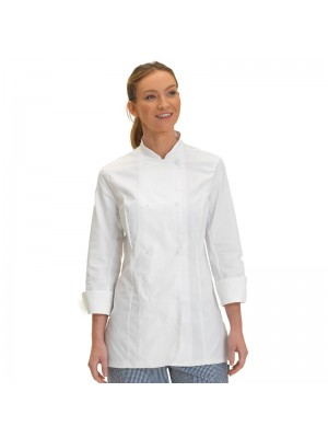 Plain jacket Women's long sleeve leChef PROFESSIONAL 200 GSM