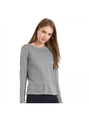 Plain Women-only long sleeve B&C 145 GSM