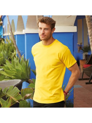 Plain tee Heavy cotton FRUIT of the LOOM 185 GSM