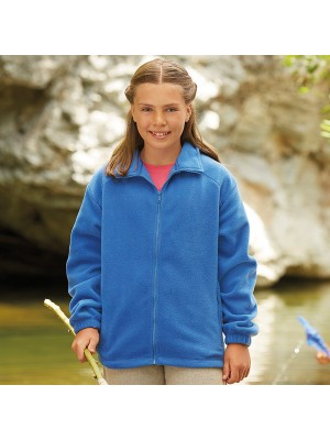 Plain fleece Kids outdoor FRUIT of the LOOM 300 GSM