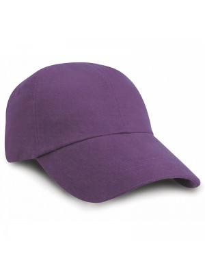 CAP Low profile heavy brushed cotton Result Headwear 350 GSM