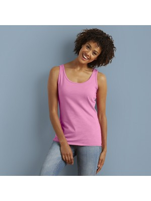 Plain top Softstyle® women's tank GILDAN 141 GSM