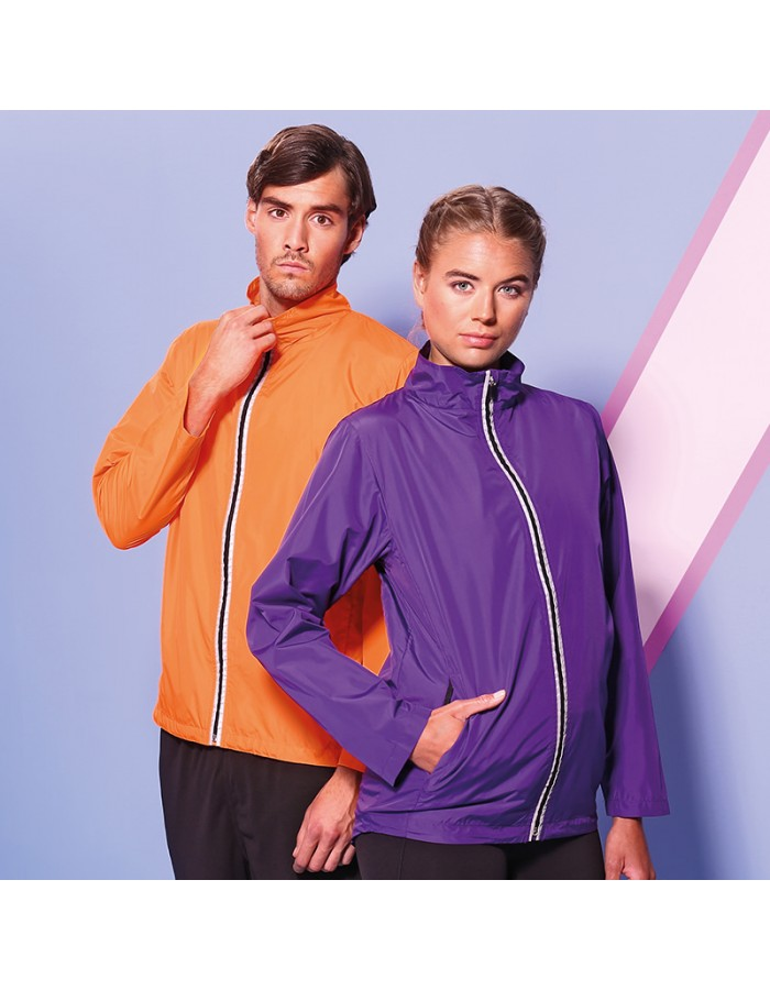 Plain running jacket Cool AWDis 70 GSM