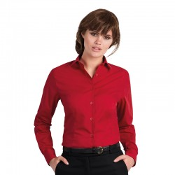Plain long sleeve/women Smart B&C 115 GSM
