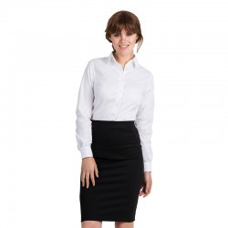 Plain tie LSL /women Black B&C 135 GSM