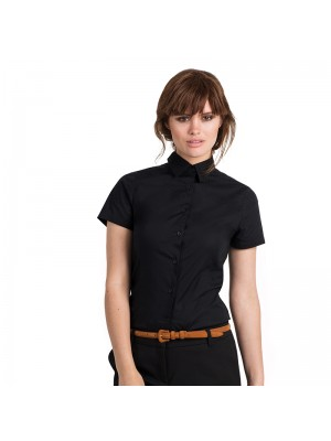 Plain SSL /women Black tie B&C 135 GSM