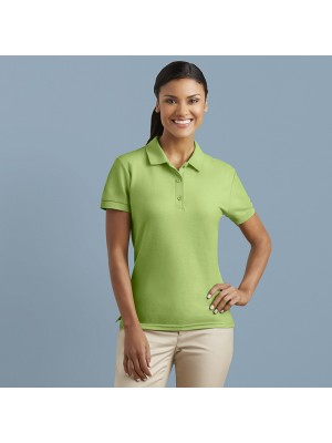 Plain sport shirt Women's premium cotton double piqué GILDAN 211 GSM