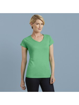 Plain T-shirt Softstyle® women's v-neck GILDAN 141 GSM