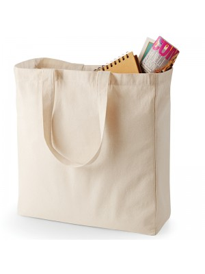 Plain Canvas Classic Shopper BAGS QUADRA 285 GSM