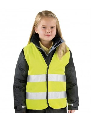 Plain CORE KIDS SAFETY VEST RESULT 120 GSM
