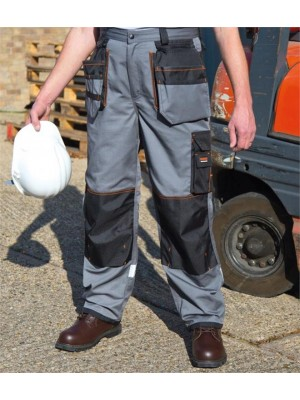 Plain WORK-GUARD X-OVER HEAVY TROUSERS RESULT 270 GSM