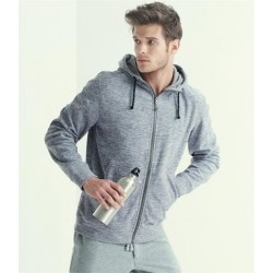 Plain MONTREAL HOODED FLEECE JACKET REGATTA ACTIVEWEAR 240 GSM