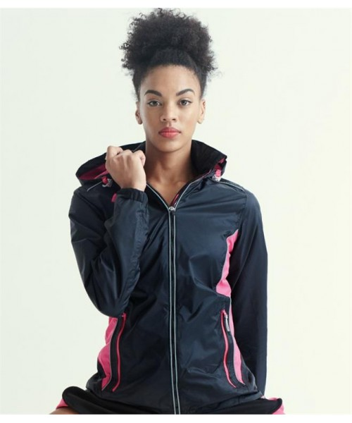 Plain LADIES MOSCOW SHELL JACKET REGATTA ACTIVEWEAR 405 GSM