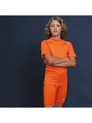 Plain Juniors Base Layer Short Sleeves Rhino 250 GSM