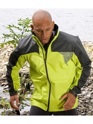 Plain TEAM SOFT SHELL JACKET SPIRO