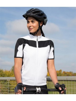 Plain LADIES BIKEWEAR CYCLING TOP SPIRO 170 GSM