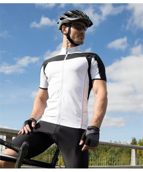 Plain BIKEWEAR CYCLING TOP SPIRO 170 GSM