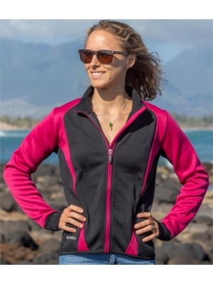 Plain LADIES FREEDOM SOFT SHELL JACKET SPIRO