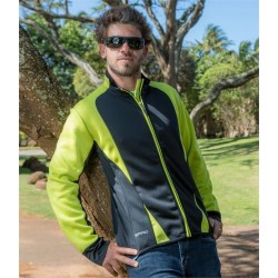 Plain FREEDOM SOFT SHELL JACKET SPIRO