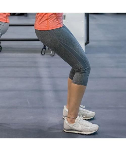 Plain Women's fitness capri pant SPIRO 230 GSM