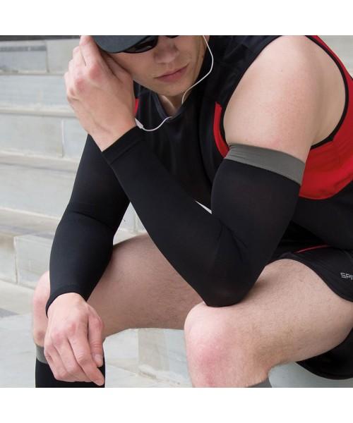 Plain compression arm guards SPIRO
