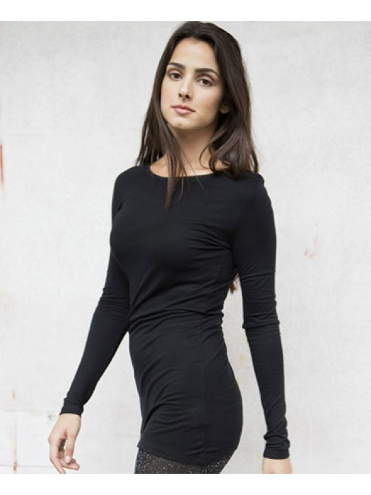 Skinnifit Ladies Long length 170GSM  slinky T