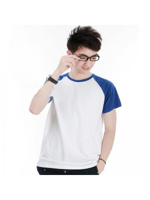 Raglan cotton baseball short sleeve t-shirts