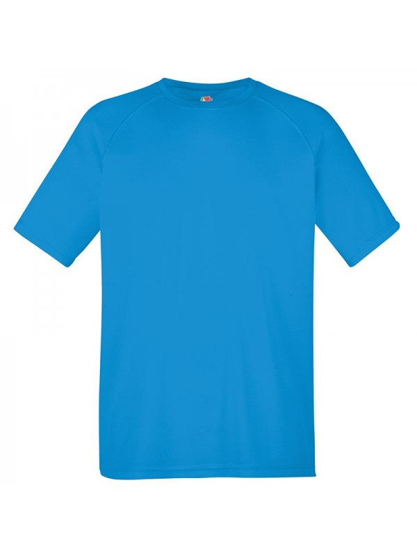 Personalised T Shirt Performance Fruit Of The Loom 140gsm