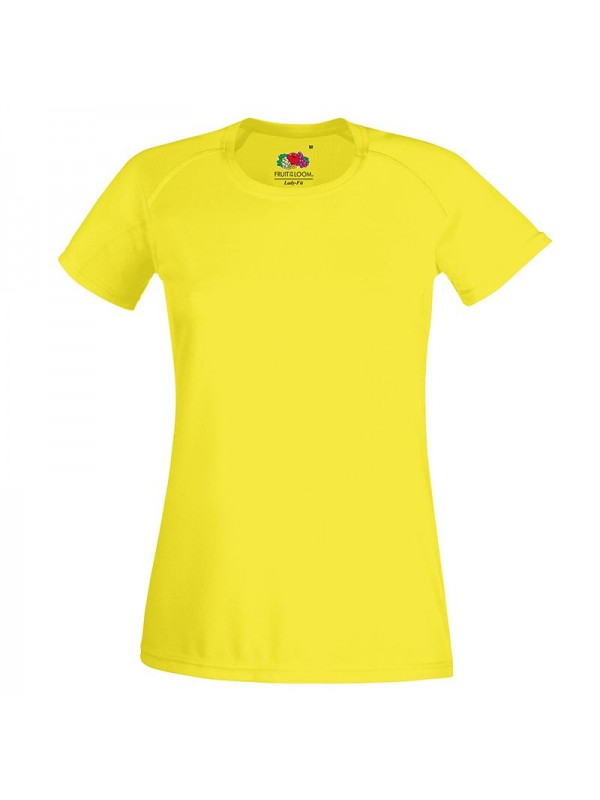 Personalised T Shirt Lady Fit Performance Fruit Of The